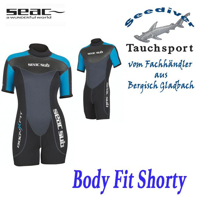 SEAC-SUB Body Fit Shorty 3mm  Neu Neu Neu v. Fachhändler 59287a