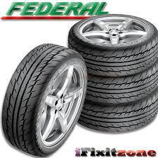 4 Federal 595 EVO Tires 195/40ZR16 80W Ultra High Performance 195/40/16 New