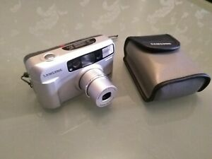 2019 DernièRe Conception Rétro Samsung Fino 800 Caméra 35 Mm Point Et Shoot Zoom Flash Shd Objectif 38-80 Mm-afficher Le Titre D'origine 50% De RéDuction