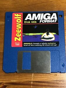 Amiga-Format-cover-disk-66b-Zeewolf-TESTED-WORKING