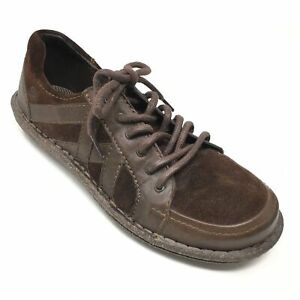 Women-039-s-Born-Sommer-Casual-Walking-Shoes-Sneakers-Size-8-5M-Brown-Leather-W11