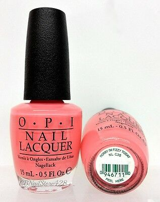 OPI Nail Lacquer 0.5oz- COCACOLA Collection 2014 - Pick Any Shade