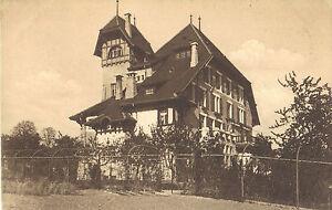 Chateau-Mont-Choisi-Lausanne-Pensionnat-Schenker-amp-Roy-carte-postale-de-1910