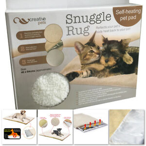 Image Is Loading Snuggle Rug Self Heating Dog Cat Puppy Pet