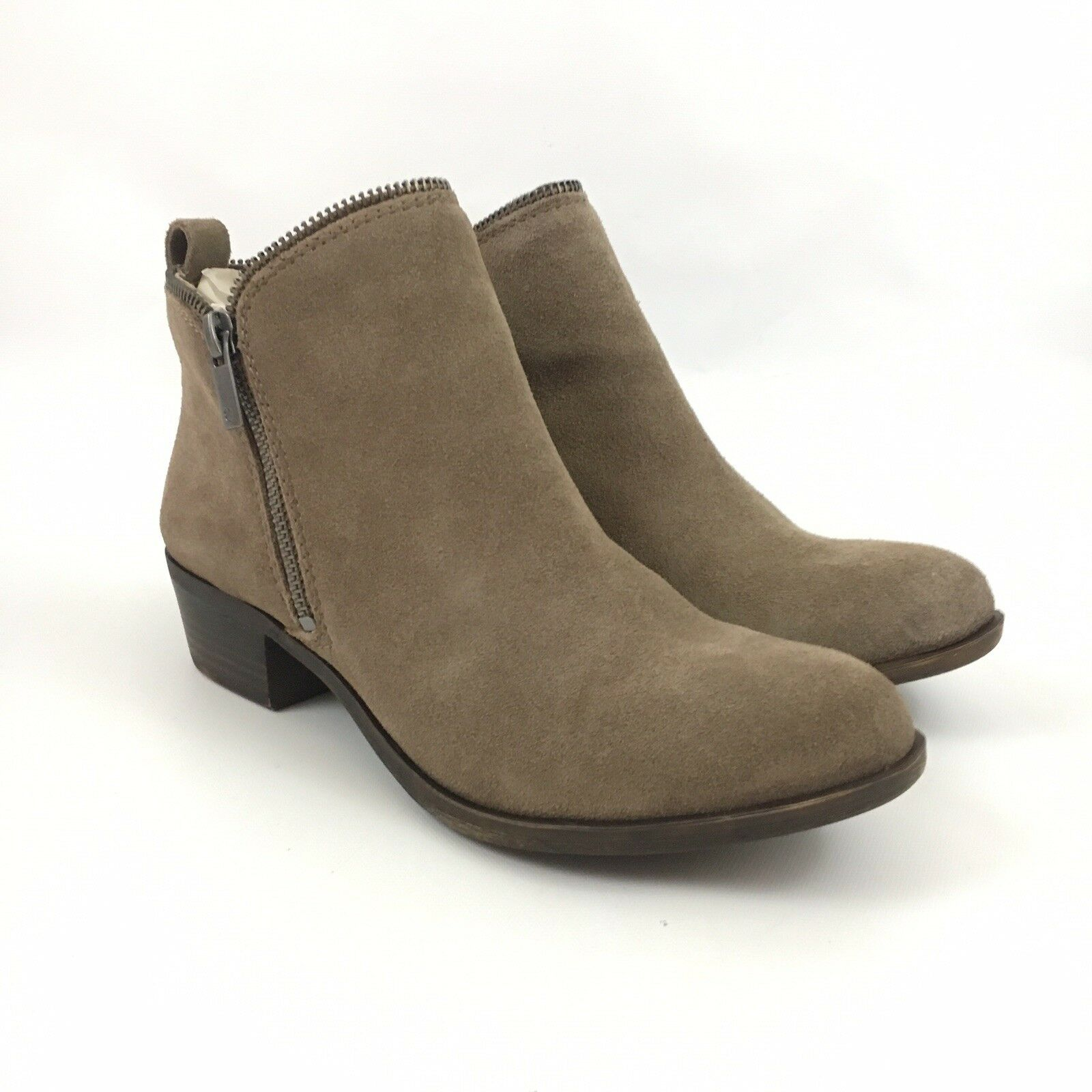 Lucky Lucky Lucky Brand Bartalino Womens Ankle Boots Brown Suede 0c9bfa