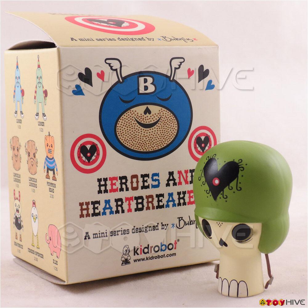 Kidrobot Heroes  e Heartbreakers - Soldier Skull (CHASE) cifra by Ryan Bubnis  consegna diretta e rapida in fabbrica
