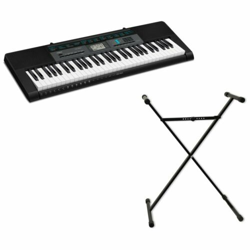 NEW CASIO CTK-2550 61-key Portable KEYBOARD with POWER ADAPTER /& STAND