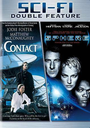 Contact/Sphere double feature DVD