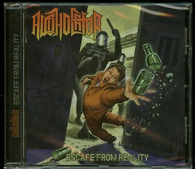 Alcoholator Escape From Reality CD new High Roller Records ...