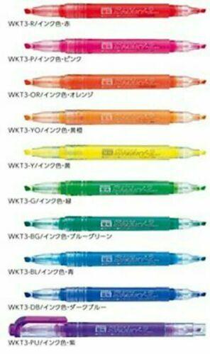 Zebra highlighter Sparky 2 5 colors WKT3-5C