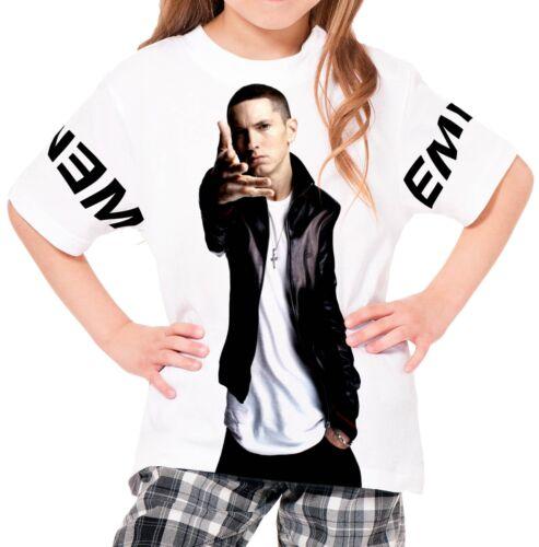 Eminem Girls Kid Youth T-Shirt Tee Age 3-13 New