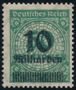 DR-1923-MiNr-336-A-Wb-tadellos-postfrisch-Fotoattest-Bechtold-Mi-450