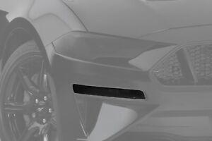 Fits 18-20 Ford Mustang GTS Smoke Acrylic Headlight Turn Signal Covers 4pc Set
