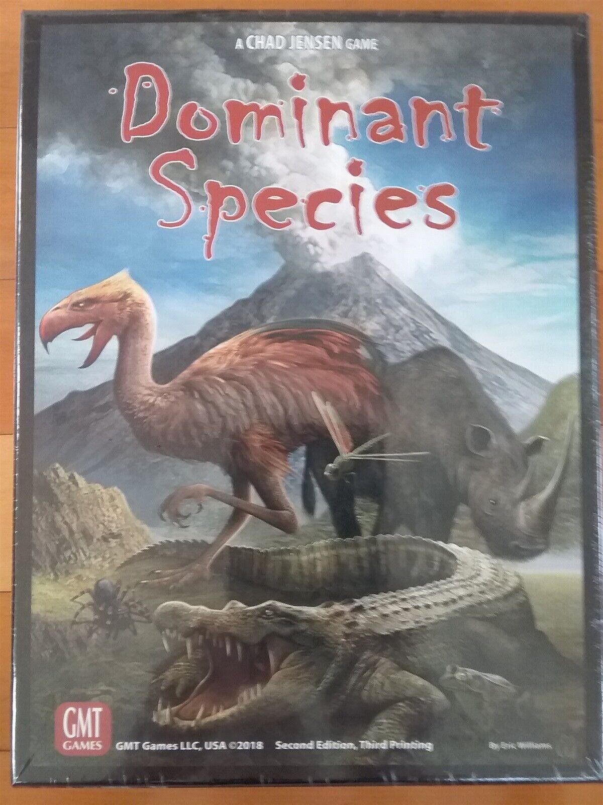 Gmt Dominant Species 2ème Édition, 3ème Impression