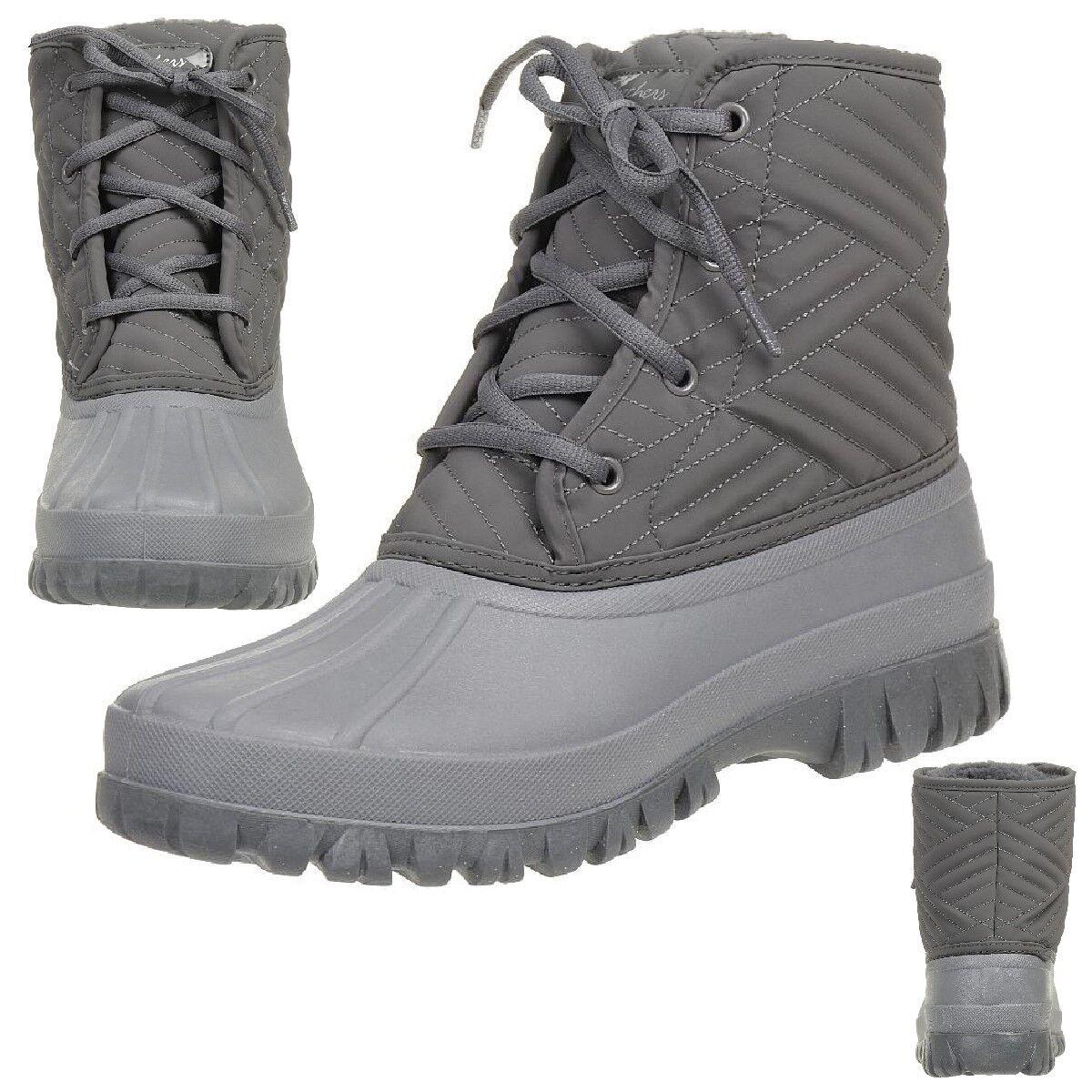 ti renderà soddisfatto Skechers Windom Dry Spell stivali stivali stivali Donna  Winter scarpe Padded grigio Ccl  acquisto limitato