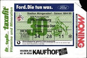 Vfl Wolfsburg Tickets Dfb Pokal