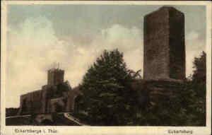 Eckartsberga-Thueringen-1920-Eckartsburg-Burg-Castle-alte-Postkarte-ungelaufen