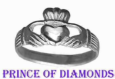Irish Sterling silver Buffy The Vampire Slayer Claddagh ring Jewelry Friendship