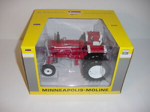 1-16-Cockshutt-White-1855-Red-Chase-Tractor-W-Duals-Toy-Tractor-Times-2016