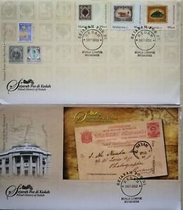 Malaysia FDC with Miniature Sheet & Stamps (20.12.2012) -Postal History of Kedah