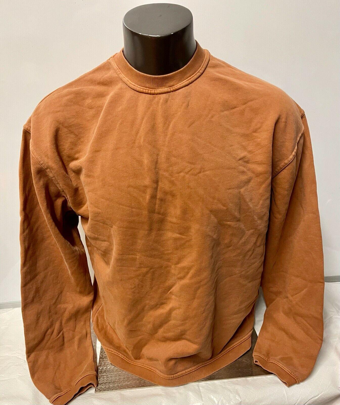 Authentic Pigment Men's Sweatshirt Crew styl Long Sleeves Size Medium