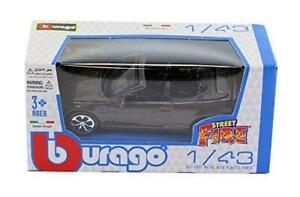 BURAGO-DIECAST-1-43-039-Street-Fire-034-range-BMW-645i-Cabrio-in-met-grigio