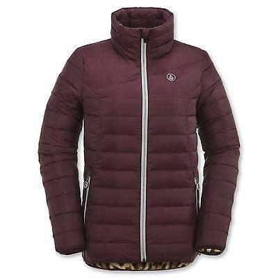 Volcom Juniors Casco Down Puff Snow Jacket