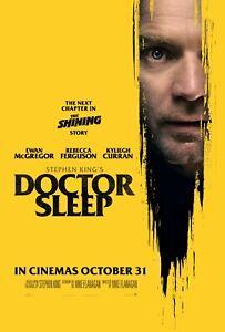 DOCTOR SLEEP MOVIE POSTER FILM A4 A3 A2 A1 PRINT CINEMA RED