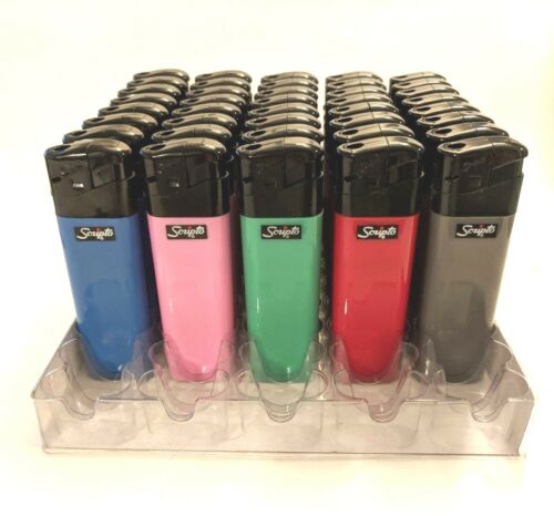 LIGHTERS 5 20 150 SCRIPTO PIEZO ELECTRONIC SOLID LIGHTER 50,100 10 25