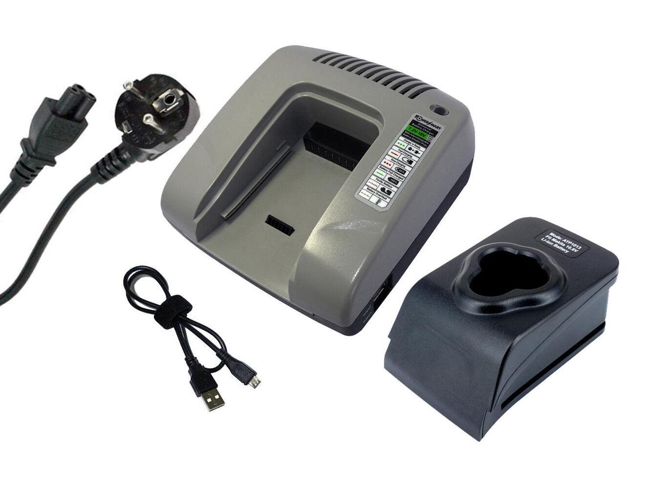 10.8V Ladegerät für Makita DF030D DT01 JV100DZ ML101 MUS052D UM164DWE BL1014