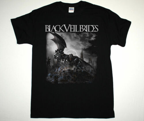 BLACK VEIL BRIDES IV BVB NEW ALBUM SHOCK ROCK HEAVY GLAM METAL NEW BLACK T-SHIRT