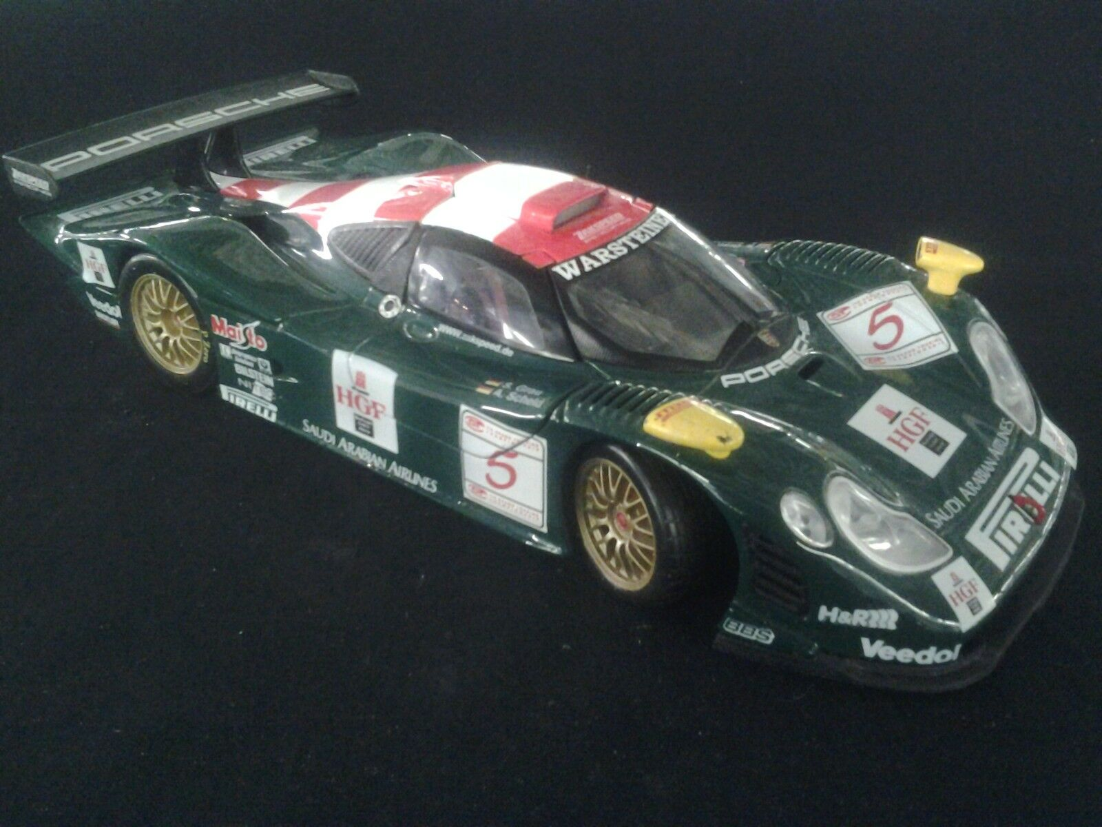 Compra calidad 100% autentica Maisto Zakspeed Racing Porsche 911 911 911 GT1 1998 1 18  5 gris   Scheld FIA GT (MCC)  autentico en linea