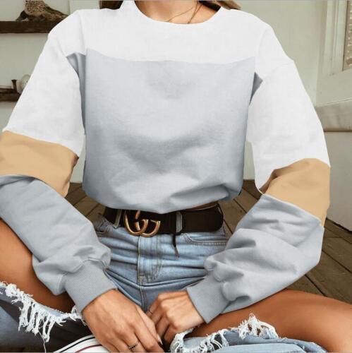 Women Hoodie Sweatshirt Jumper Sweater Crop Top Print Coat Sports Pullover Tops0