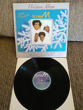 "BONEY M. CHRISTMAS ALBUM LP 12"" VINYL VINILO SPANISH PRESS ARIOLA 1981 VG/VG"
