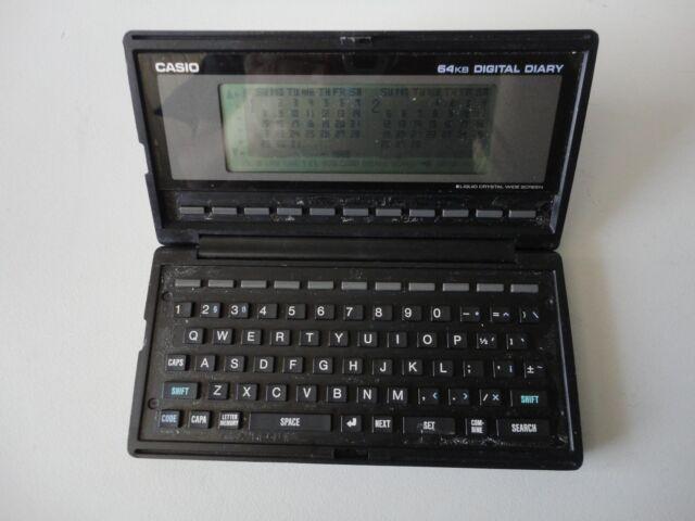 Casio SF-8000 Vintage Business Organizer Scheduling System 64KB