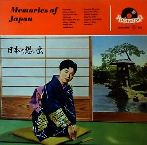 LP-08-1957-VA-Sampler-MEMORIES-OF-JAPAN-Polydor-46036-GERMAN-PRESSING-NM
