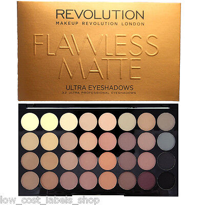 Makeup Revolution Palette  32 Shade Eye shadow Flawless Matte