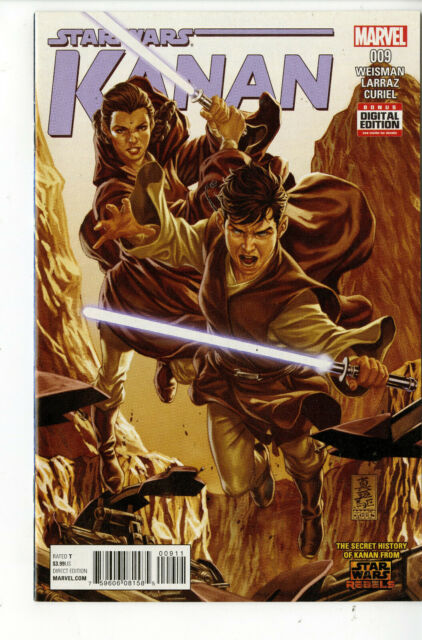 Star Wars KANAN THE LAST PADAWAN #9 (MARVEL 2015)
