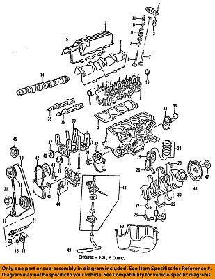 CHRYSLER OEM-Engine Crankshaft Crank Main Bearing 4637601 | eBay