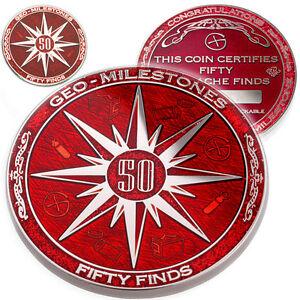 50-finds-geo-milestones-geocoin-et-pin-set-prix-de-votre-geocache-succes
