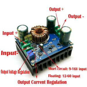 NEW-DC-DC-600W-10-60V-to-12-80V-Boost-Converter-Step-up-Module-Car-Power-Supply