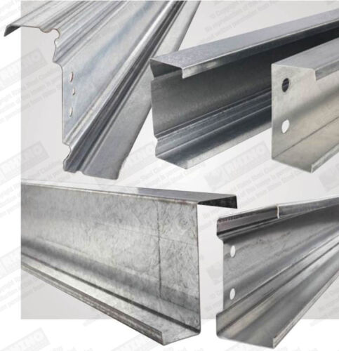 Roofing INC VAT Z PURLINS /& C SECTIONS Galvanised Steel Roof /& Wall Purlins