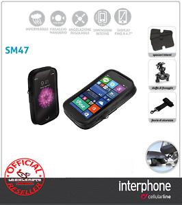 PORTE-GPS-SMARTPHONE-MOTO-SCOOTER-VELO-4-7-CELLULARLINE-UNIVERSEL-IMPERMEABLE