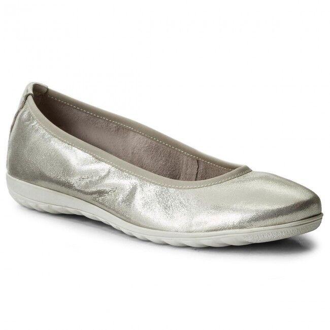 Caprice Beige Damenschuhe Ballerina Beige Caprice Größe 37 92214220409 Leder a57e06