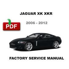 2006 - 2012 JAGUAR XK8 XKR 4.2L 5.0L ENGINE OEM SERVICE REPAIR WORKSHOP MANUAL
