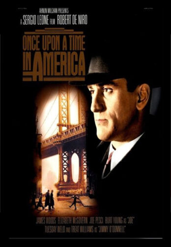 #21 A3 ONCE UPON A TIME IN AMERICA 1984 MOVIE Film Cinema wall Home Posters