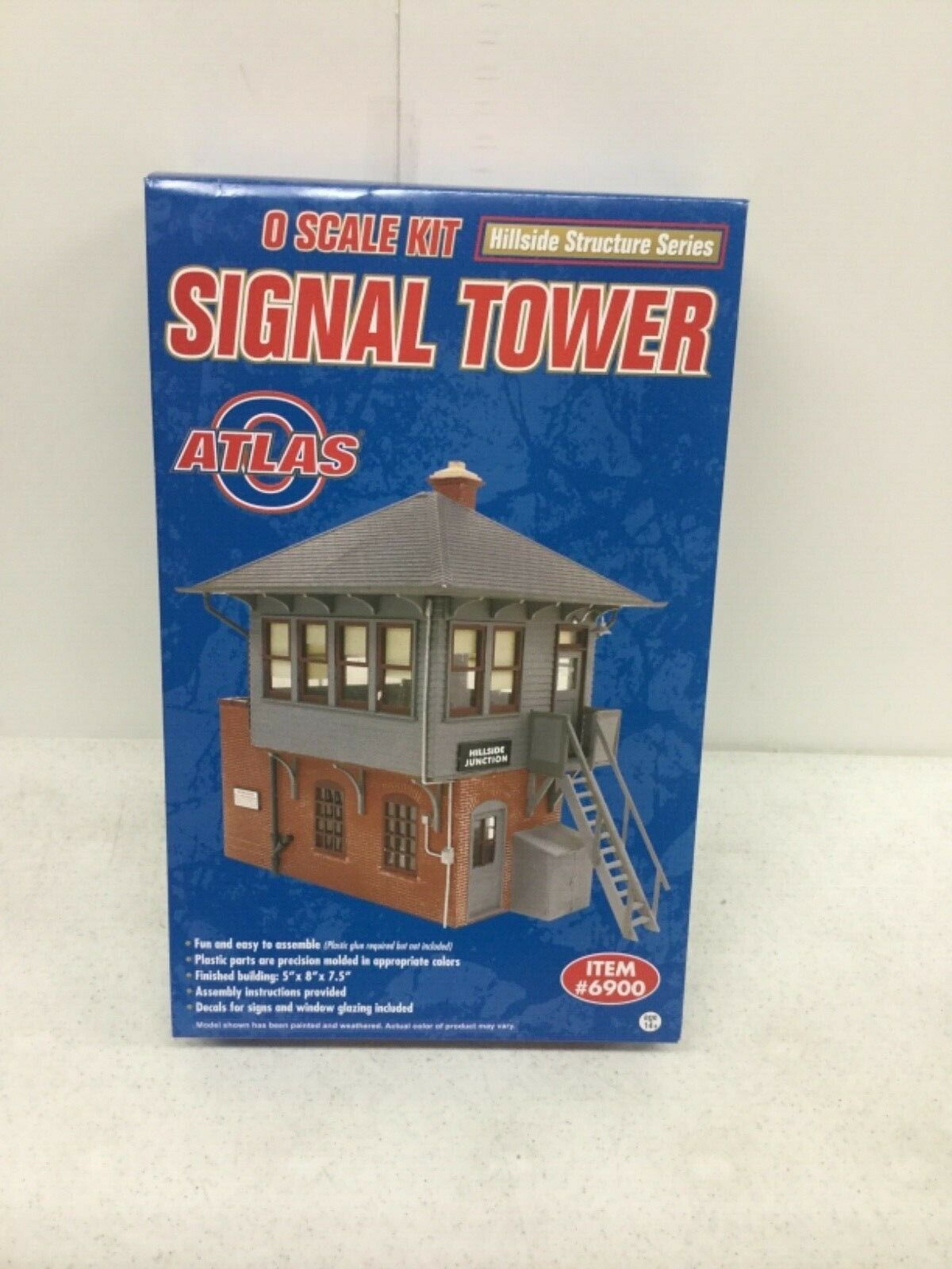 Atlas Hillside Structure Series Signal Tower Kit O Scale Unopened Box