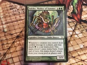 Betrayers of Kamigawa  MTG  Foil  Sakiko Mother of Summer   Magic