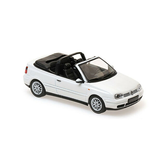 Maxichamps 940058330 VW Golf IV Cabriolet White Scale 1:43 Model Car New !°