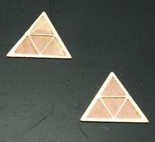 2 Katzenauge Dreieckig 1:14 1:16 für Wedico Tamiya Messing